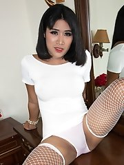 Double Milking White Dress Bareback